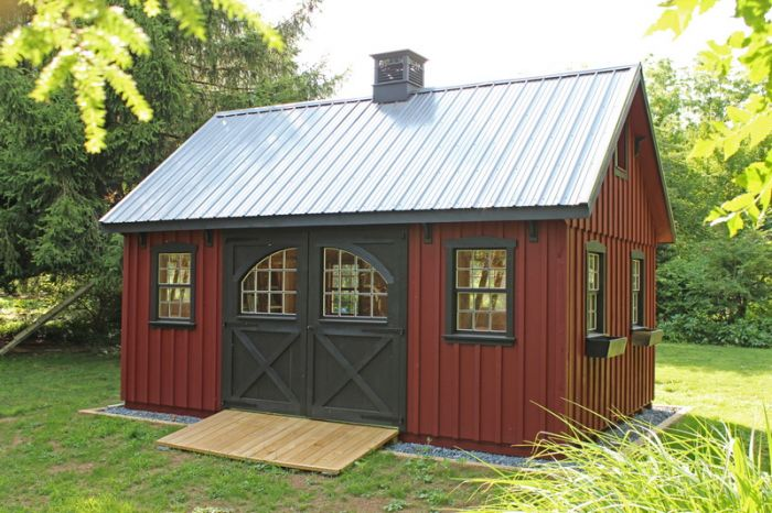 Why buy your shed from Landserv?
